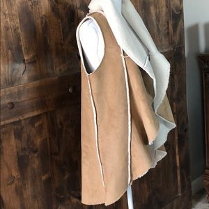Soft Surroundings Ultra Suede Vest - Small NWOT